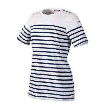 le tailleur vente en ligne vetements restauration hotellerie mariniere de cuisine femme balise mc raye marine mariniere balise raye marine faces