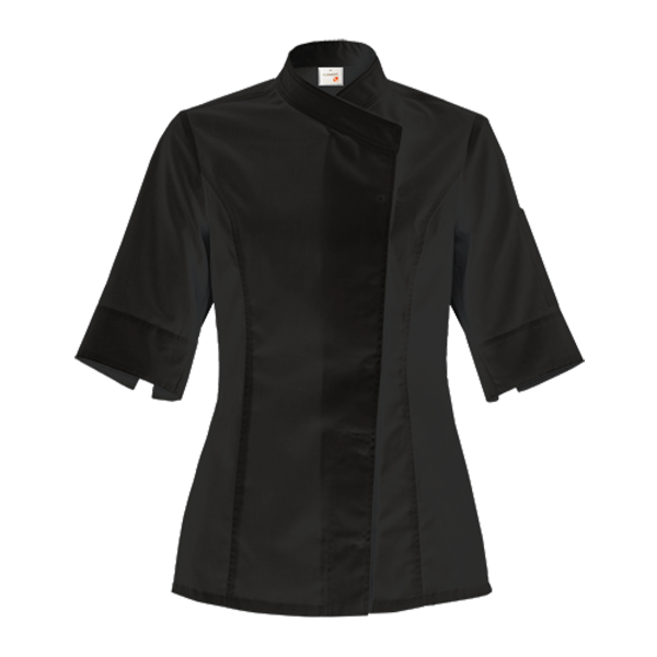 le tailleur vente en ligne vetements restauration hotellerie veste de cuisine femme intuition noire mc le tailleur vente en ligne vetements restauration hotellerie p vface 76 1