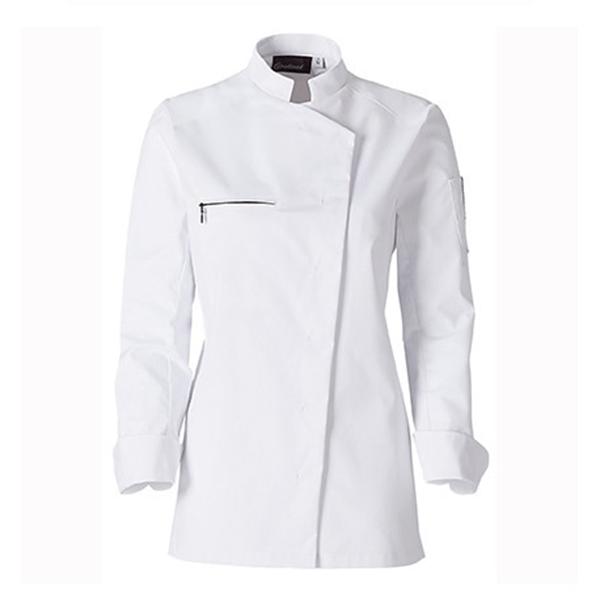 le tailleur vente en ligne vetements restauration hotellerie veste de cuisine femme jaklab blanc le tailleur vente en ligne vetements restauration hotellerie veste jaklab femme